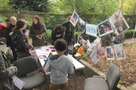 LETS stall at Apple Day, October 2013